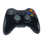 Carcasa Mando Wireless Negro Xbox 360 + Destornillador