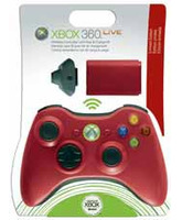 Kit De Juega y Carga Xbox 360 Rojo (Play & Charge Kit)