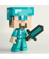 Muñeco Minecraft Steve Diamante