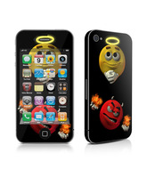 Skin Good vs Evil iPhone 4/4S