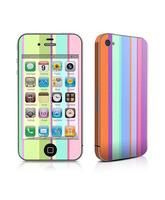 Skin Spring Stripes iPhone 4