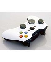Carcasa Black & White para Wireless controller Xbox 360