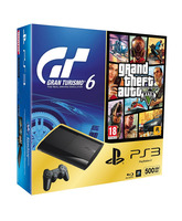 Consola PS3 500Gb + GT6 + GTA V