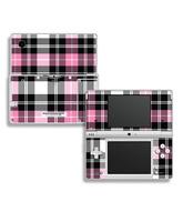 Skin Pink Plaid Nintendo DSi