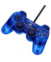 Dual Shock 2 Azul Transparente