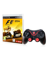 F1 2014 PS3 + X-Shock Controller