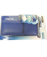 Funda de cuero DS Lite Leather pocket Enamel Navy