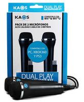 Pack de micrófonos Kaos