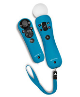 Fundas de silicona para Playstation Move Azul