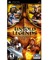 Untold Legends PSP