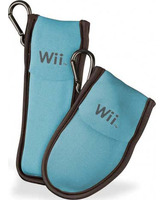 Game Traveler for Wiimote and Nunchuck NW8 Blue