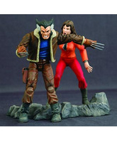 X-Men - Wolverine with Kitty Pryde