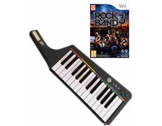 Rock Band 3 + Teclado Wireless Wii