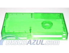 Transparent Superior Green Case Playstation 2