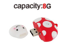 8GB Mini Mushroom Shaped High
