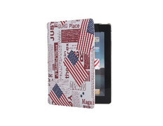 American Flag Design Flip Case for iPad 2
