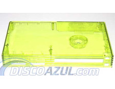 Transparent Superior Yellow Case Playstation 2