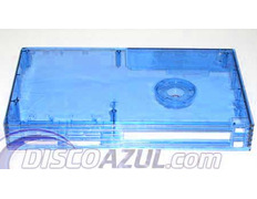Transparent Superior Blue Case Playstation 2