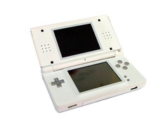 NDS Shock Case for Ds Lite Ivory White