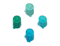 ABXY Button Set for Xbox 360 Controller Aqua Blue