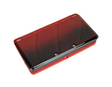 Full Housing Case Nintendo 3DS Metallic Red