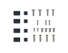 Replacement Feet and Screw Set for Wii Black