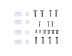 Replacement Feet and Screw Set for Wii White