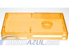 Transparent Superior Orange Case Playstation 2
