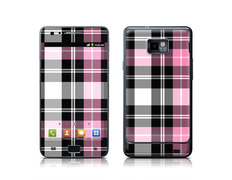 Skin Pink Plaid Samsung Galaxy