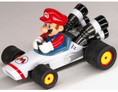 Mario Kart - Mario B Dasher Pull Back