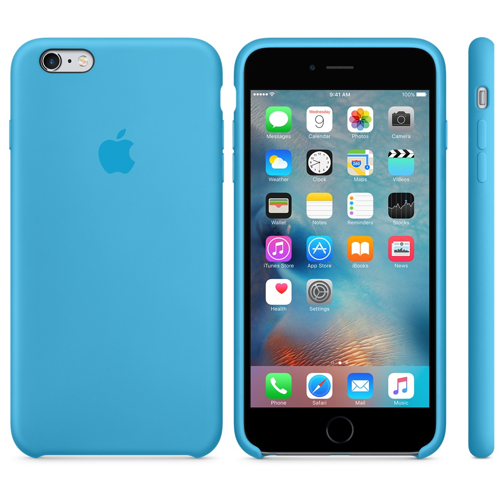 carcasa apple iphone 6s silicona