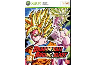 Dragon Ball Z Raging Blast Xbox 360