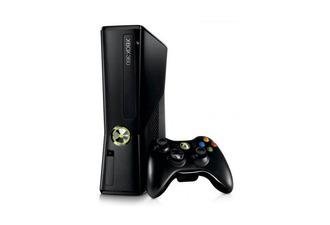 Xbox 360 Slim 250GB Matte Black - DiscoAzul.com  Xbox 360 Slim 2...