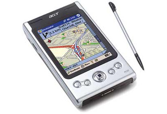 Acer n35 GPS Pocket PC + SD 256Mb + Antenna