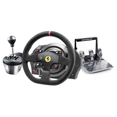 volante thrustmaster t300 alcantara th8a t3pa pro. Black Bedroom Furniture Sets. Home Design Ideas
