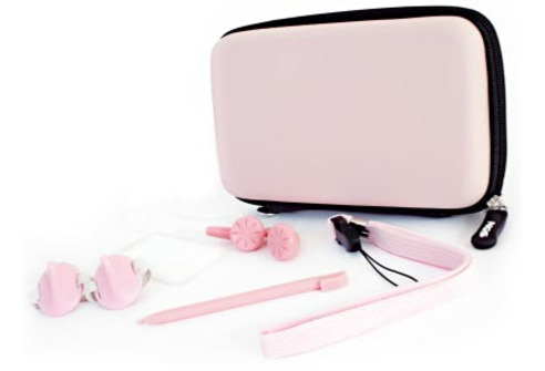 NGS Travel Pack 10 in 1 Pink for DS Lite