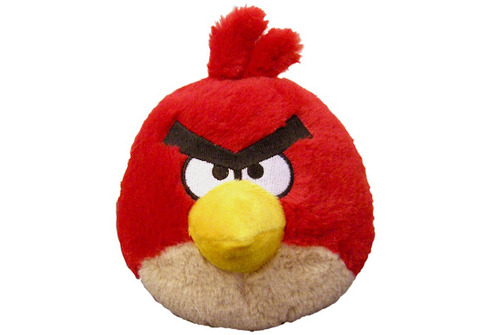 Angry Birds Plush - Red with sound