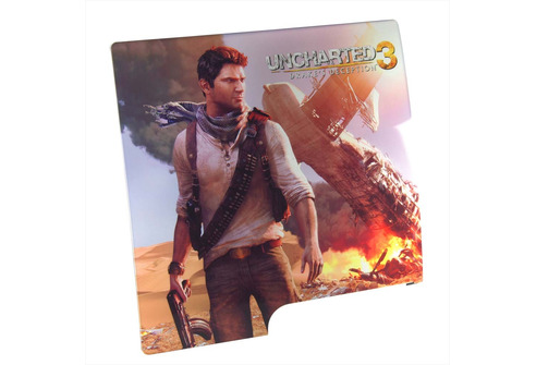 Uncharted 3 Face Plate Cover for PS3 Slim