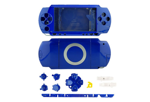 Full Housing Case for PSP-1000 Blue