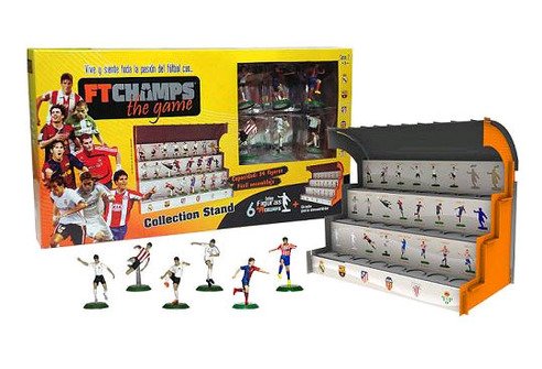 FTCHamps - Grada Collection Stand + 6 Jugadores