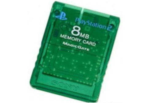 Carte de Mémoire officielle 8Mb Emerald Sony
