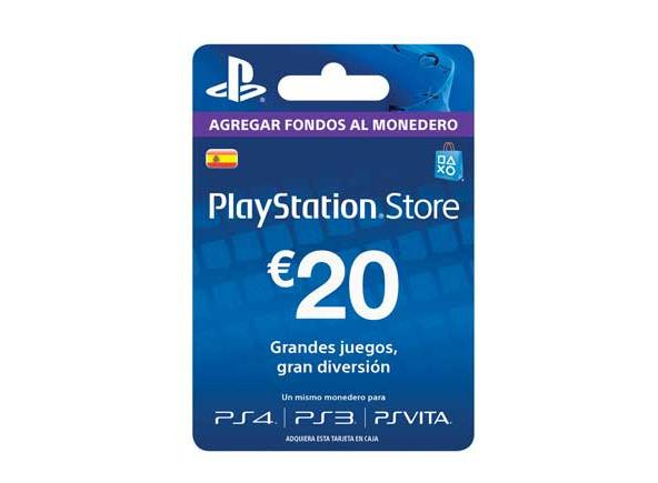 Playstation Network Card - 20 EUR