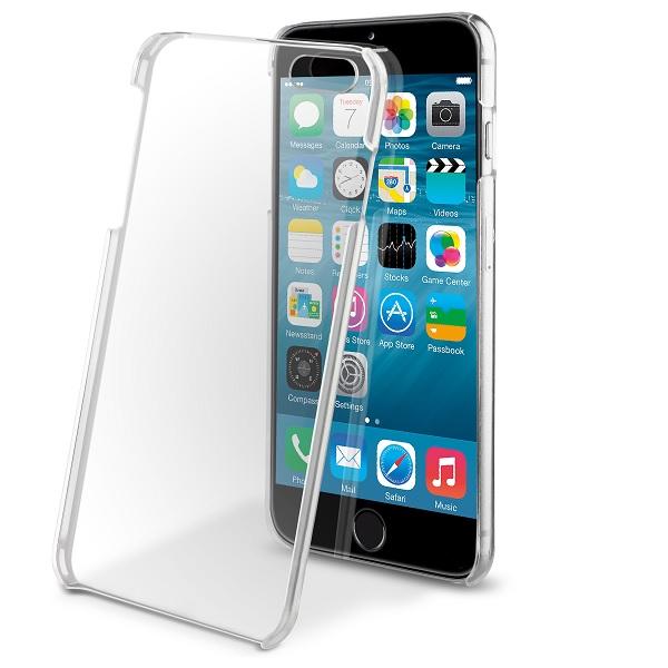 a6f3b4c284f Carcasa cristal transparente iPhone 6 Plus Muvit