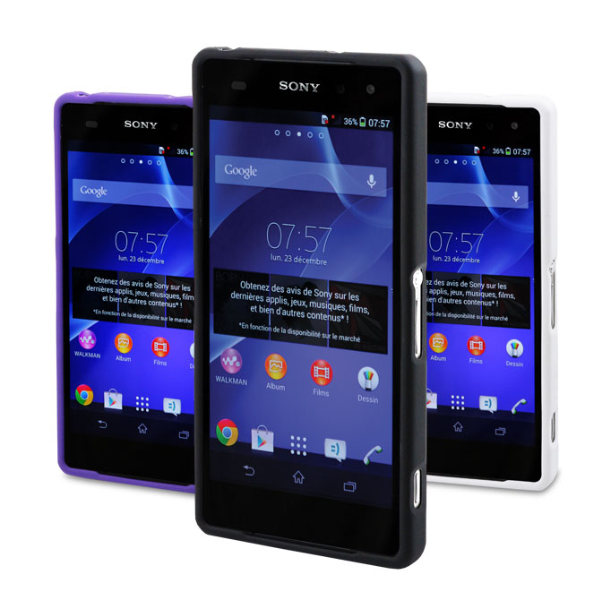99a6e1313fd Funda Muvit Bimat para Sony Xperia Z2 - DiscoAzul.com