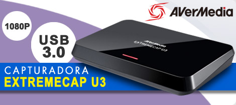 Capturadora Avermedia EXTREMECAP U3 USB 3.0