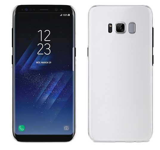 3b5f3d8551b Carcasa Cristal Transparente Samsung Galaxy S8 Plus muvit