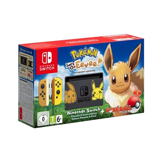 Consola Nintendo Switch Pokemon Eevee Ball Juego Let