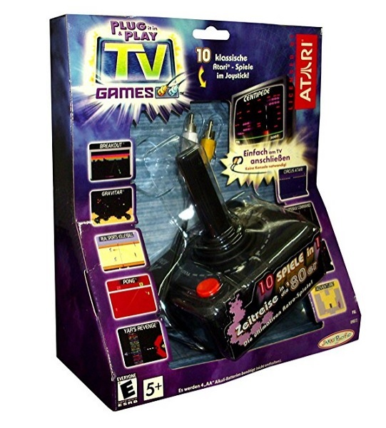 Consola Retro Arcade Atari Incl 10 Juegos Discoazul Com