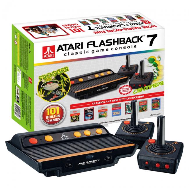 Consola Retro Atari Flashback 7 Discoazul Com