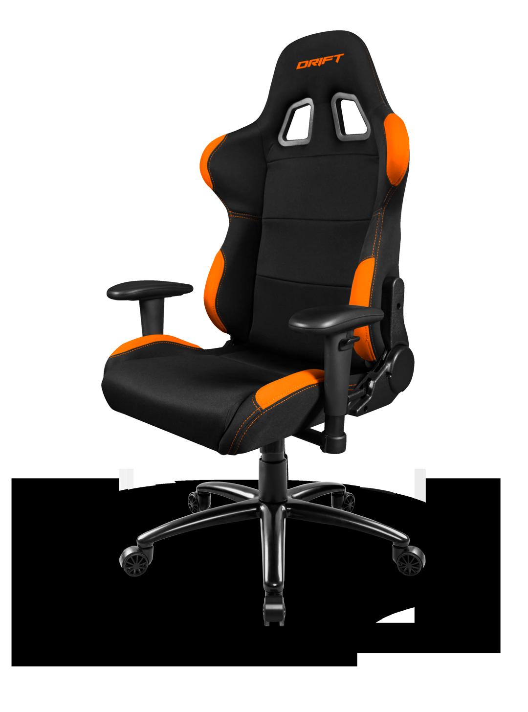 Silla gaming drift dr100 negra naranja for Precio de silla gamer